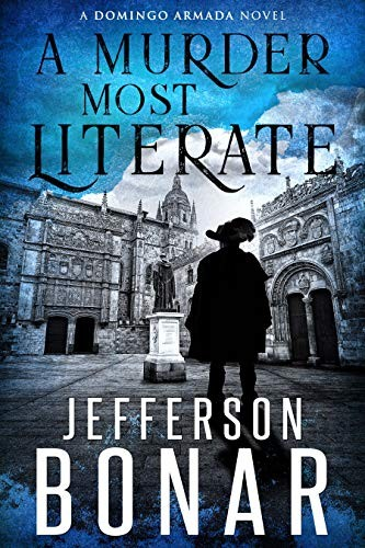 A Murder Most Literate by Jefferson Bonar